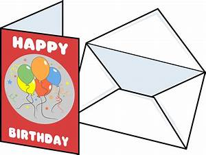 Postcard clipart greeting card - Pencil and in color ...