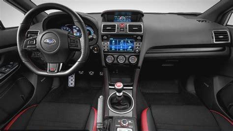 subaru wrx interior 2018 subaru wrx 2018 interior future cars release date