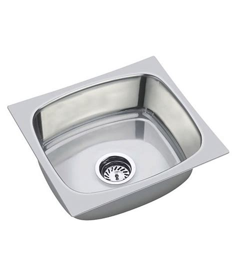 Buy Sink by Buy Jindal Sink Stainless Steel Single Bowl Sink Without