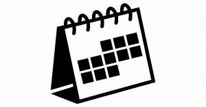 Variante de calendario de escritorio de espiral - Iconos ...