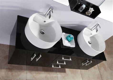 Doppio Piano D Appoggio Sospeso 60 Cm Color Legno Naturale Mobile Bagno Doppio Lavabo 150 Bianco Con Specchio E Base