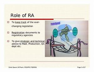 Pharma regulatory affairs