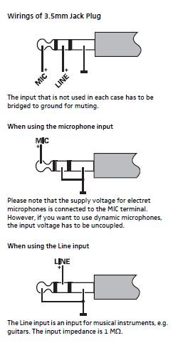 Guitar Input Wiring White Wire Positive by Ew Pin Configuration Sennheiser Uk Support