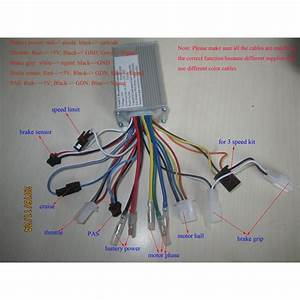 24v 250watts 6mosfets Brushless Motor Controller For Bldc Hub Motors