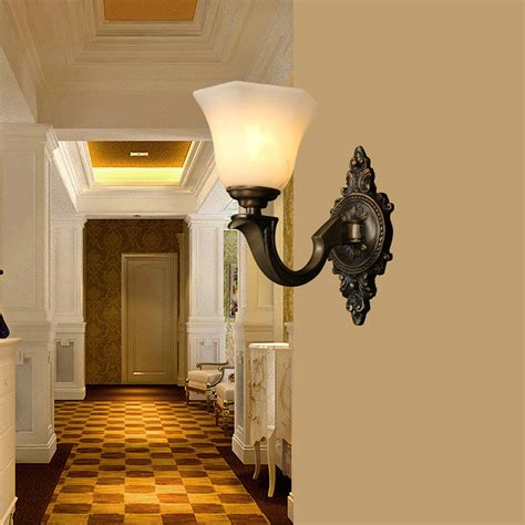 2x retro wall light fixtures indoor sconce l bedroom