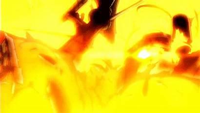 Explosion Anime Fuego Village Aot Levi Magic