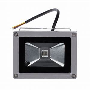 W led flood light rgb color changing outdoor holiday