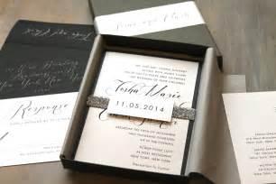 modern wedding invitations modern script wedding invitations boxed wedding