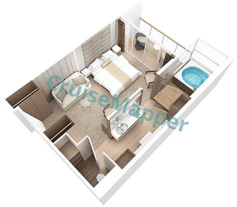 azamara journey cabin plan azamara journey cabins and suites cruisemapper
