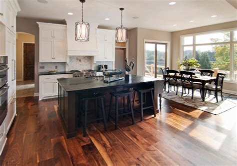 walnut kitchen floor acacia hardwood flooring an excellent choice home 3344