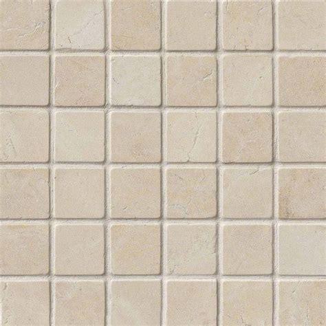 crema marfil mosaic tile crema marfil marble 2x2 tumbled tile mosaics
