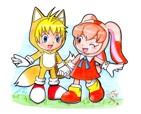 Tails And Cream (cosplay Version?) By Wolfmoon17 On Deviantart