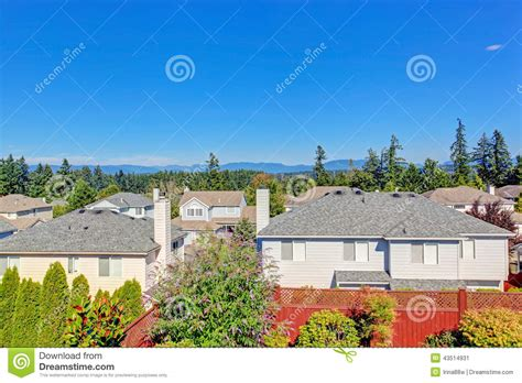 american architecture washington state summer time stock image image property