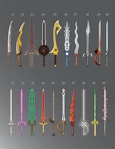 100 Swords: 21-40 by LucienVox on DeviantArt