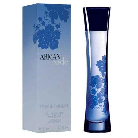 armani code femme eau de toilette 50ml sovrana parfums