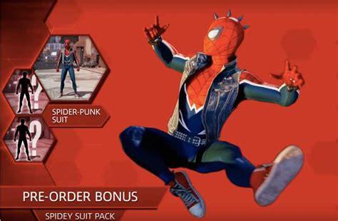 spider man ps release date  pre order bonuses