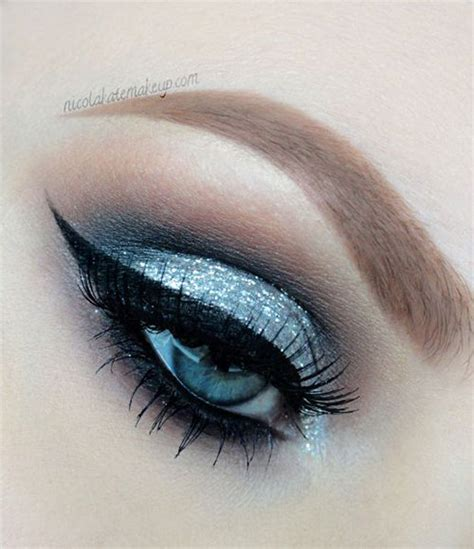 winter themed eye makeup  ideas   modern fashion blog