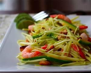 Green Mango Salad With Avocado, Shrimp and Cashews ...