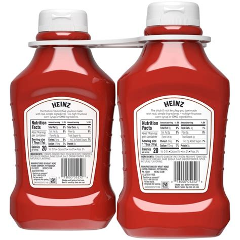 32 Heinz Ketchup Nutrition Label - Best Labels Ideas 2020