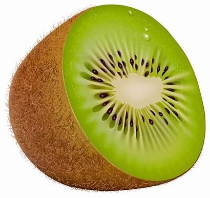 Kiwi Clipart Fruit Clip Kiwis Transparent Fruits