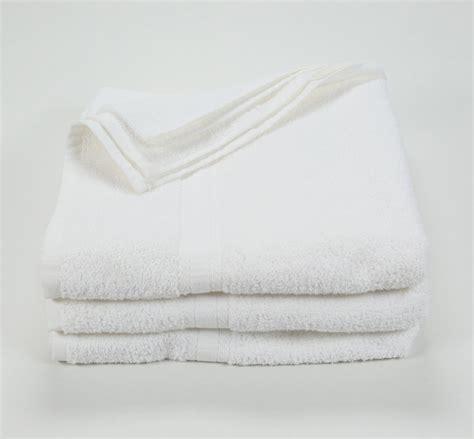 27x52 White Bath Towels, 12 lb/dz | Texon Athletic Towel