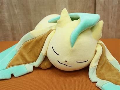 Eevee Sleeping Pokemon Plush Leafeon Evolutions Sleep