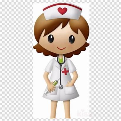 Nurse Cartoon Clipart Patient Medicine Nursing Transparent