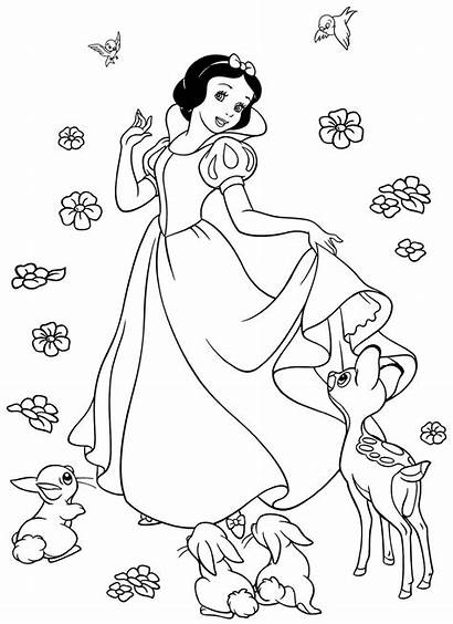 Colorings Coloring Disney Snow