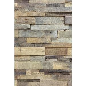 home depot reclaimed wood reclaimed 1 in x 39 5 in x 11 5 in natural american barn wood wall panel abc brn wood the