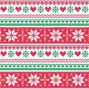 nordic christmas pattern - Szukaj w Google | cross stitch ...