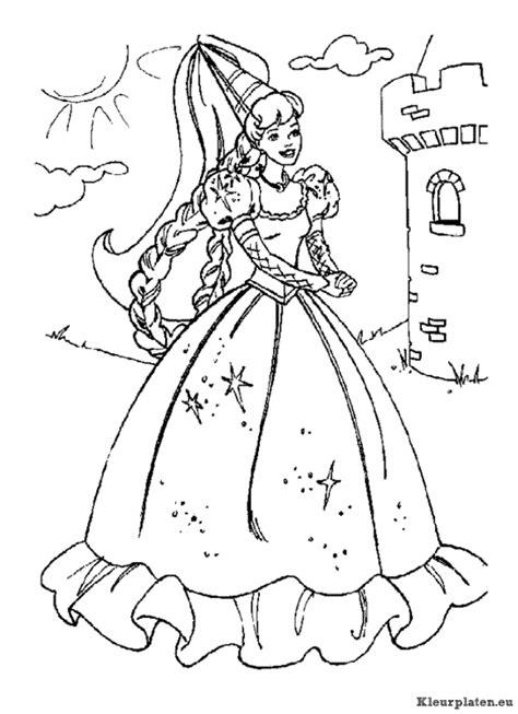 Kleurplaten Printen Prinsessen by Prinsessen Kleurplaten Kleurplaten Eu