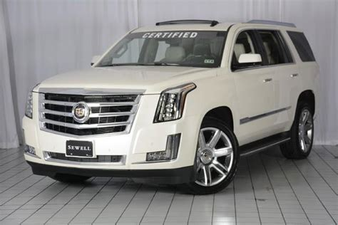 Used 2015 Cadillac Escalade Luxury In Houston Tx At Sewell