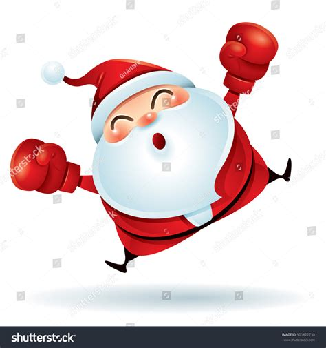 boxing day happy boxing day santa claus red stock vector 501822730 shutterstock