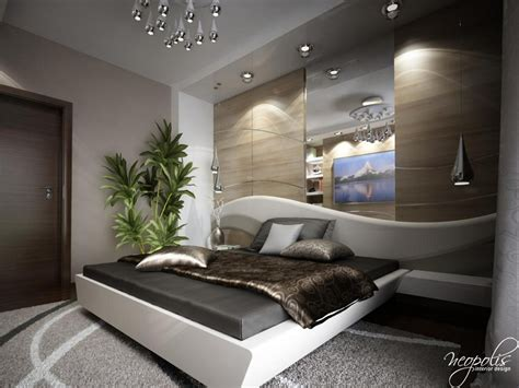 Modern Bedroom Designs By Neopolis Interior Design Studio. Dark Wood Flooring. Framed Mirrors For Bathrooms. Gray Room Ideas. Square Pendant Light. Battery Operated Ceiling Light. Bronze Door Handles. Shed Man Cave. Beautiful Ceiling Fans