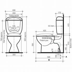 Linea Linea Elba Connector Toilet Suite