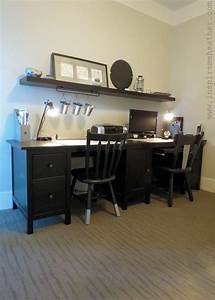 Ikea Hemnes Hack : ikea hemnes double desk hack hemnes and desks ~ Markanthonyermac.com Haus und Dekorationen