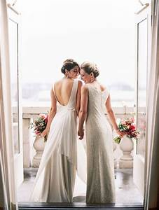 dress shopping tips for lesbian brides With lesbian wedding dresses