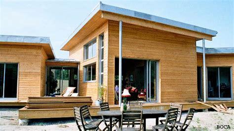maison ossature bois d 233 marche hqe