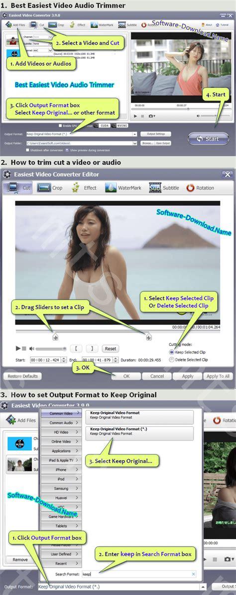 trim windows mp4 vob mts ts trimmer mkv clip file software editor load easiest teach guide app