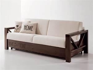 Sofa Mit Holzrahmen : bequemes sofa mit holzrahmen kundengerecht idfdesign ~ Markanthonyermac.com Haus und Dekorationen