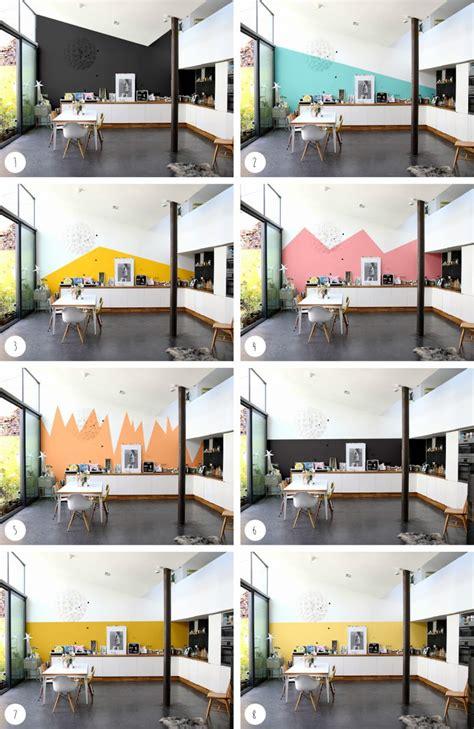 quel mur peindre dans une chambre choisir la bonne couleur de peinture avec intensément