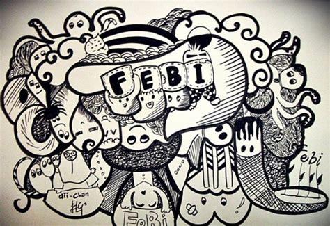 Jenis Abjad Grafiti : 100+ Gambar Doodle Art Nama, Abstrak, Simple Dan Cara