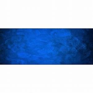Fond De Lit : papier peint t te de lit fond bleu art d co stickers ~ Teatrodelosmanantiales.com Idées de Décoration