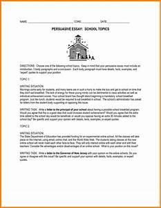 easy persuasive essay topics for high school easy