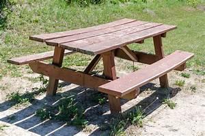 Table Bois Pique Nique : table de pique nique en bois utilit entretien et prix ooreka ~ Melissatoandfro.com Idées de Décoration