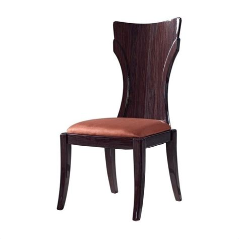 global furniture dining chair in brown and kokuten