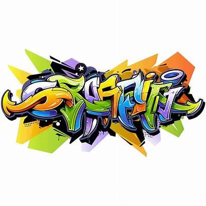 Graffiti Sticker Street Decal Multi Transparent Paper