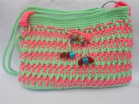ladies crochet diy purse favecraftscom