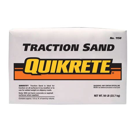 depot quikrete quikrete 50 lb traction sand 115850 the home depot Home