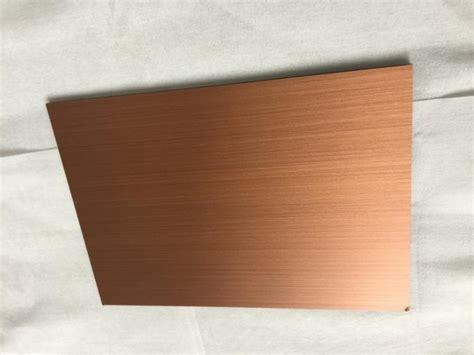 anti bacterial copper composite panel waterproof  high peeling strength